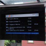 Жители столицы смогут следить за прибытием общественного транспорта по цифровым панно