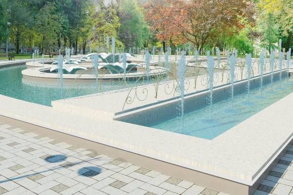 В центральном парке Рыбницы появится новый фонтан и благоустроенная площадка