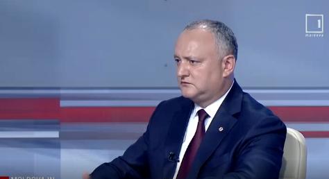 Додон: В Молдове нет двоевластия! (ВИДЕО)