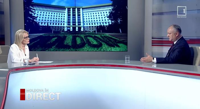 Додон – демократам: Скажите честно людям, что вы хотите досрочных выборов, потому что теряете власть