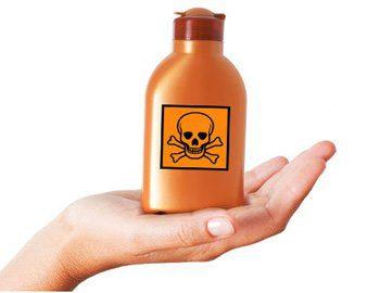Специалисты НАОЗ просят граждан быть осторожными при использовании химических веществ в быту