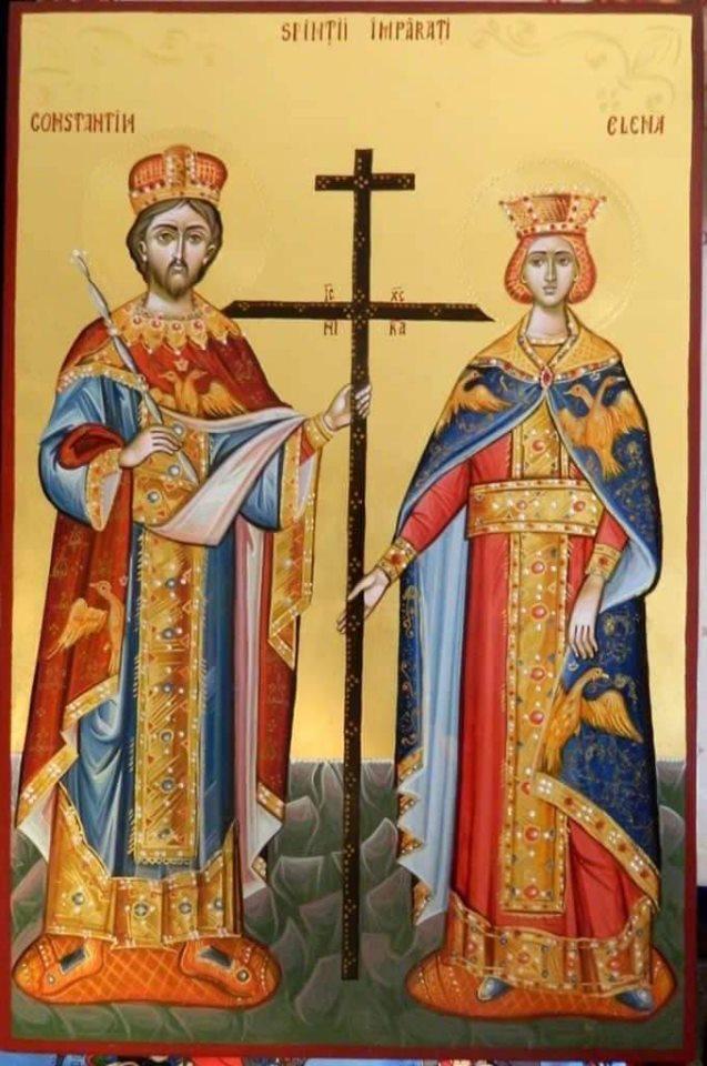 Додон поздравил православных верующих с днем святых Константина и Елены
