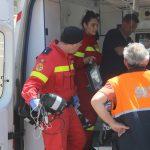 Пенсионера с тяжелым заболеванием доставили на вертолете из Окницы в Кишинев (ВИДЕО)