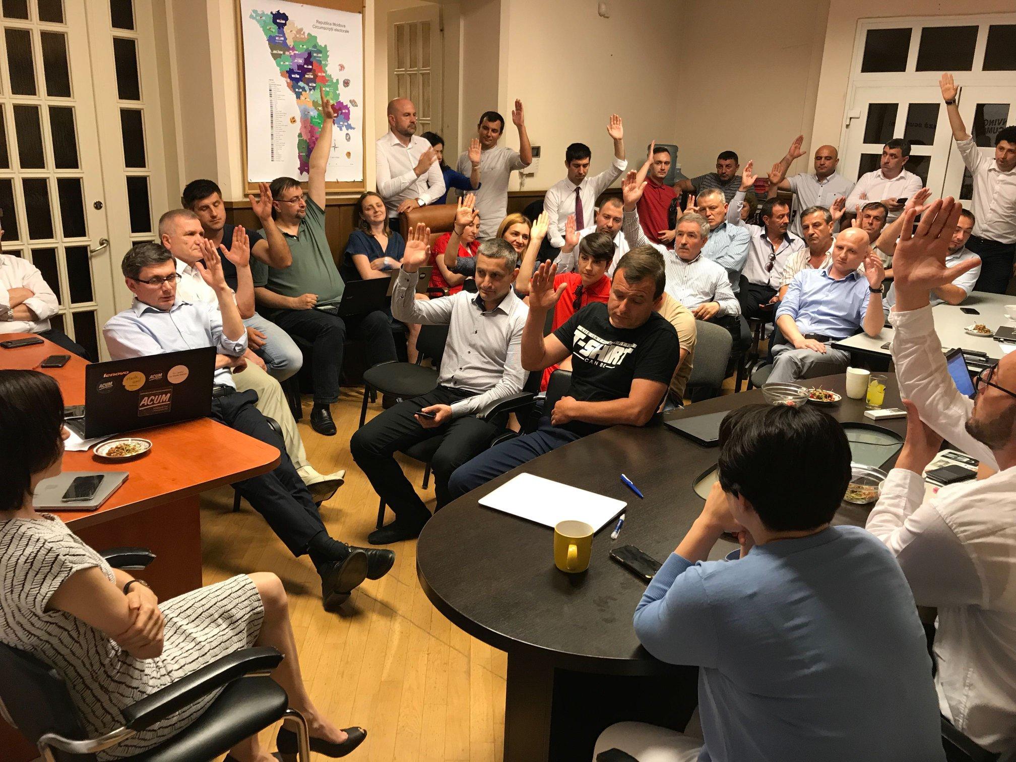 Партия Санду решилась голосовать за спикера от ПСРМ