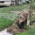 Стихия беспощадна: во Флорештах от сильного ливня пострадали дворы нескольких домов (ФОТО)