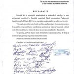 Советники Кагула и Дурлешт признали новое руководство страны (ФОТО)
