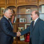 Игорь Додон провел встречу с послом России в Молдове (ФОТО, ВИДЕО)