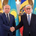 Додон поздравил президента Казахстана с победой в первом туре выборов