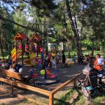 Стараниями социалистов в парке Сергея Лазо открыта новая детская площадка (ФОТО)