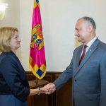 Додон встретился с послом Великобритании в Молдове (ФОТО, ВИДЕО)