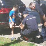 Патрульные оказали первую помощь раненому ребёнку (ФОТО)
