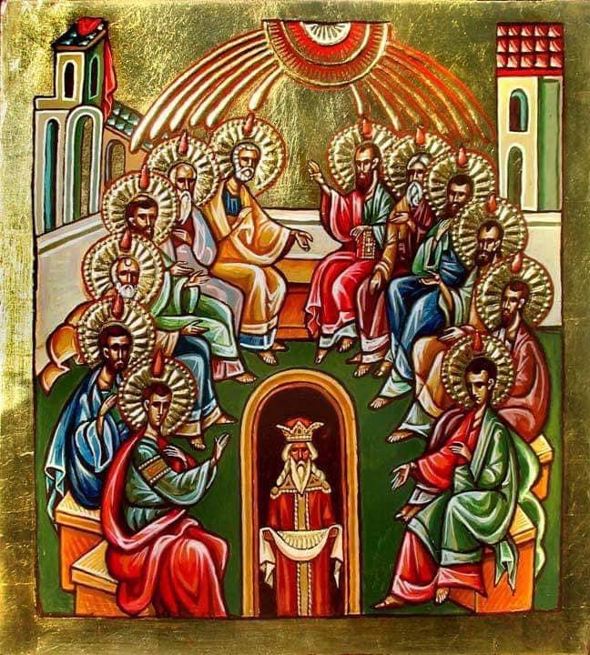 Президент поздравил граждан со Святой Троицей