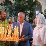 Президент помолился за обеспеченное и спокойное будущее Молдовы (ВИДЕО, ФОТО)