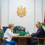 Игорь Додон провел рабочую встречу с Зинаидой Гречаный (ФОТО, ВИДЕО)