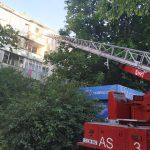 Пожар на Буюканах: в многоэтажке загорелась однокомнатная квартира