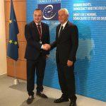 Батрынча поблагодарил генсека Совета Европы за поддержку новой власти в Молдове