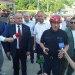 В ГИЧС рассказали, как проходят работы у рухнувшего в Атаках дома (ФОТО, ВИДЕО)