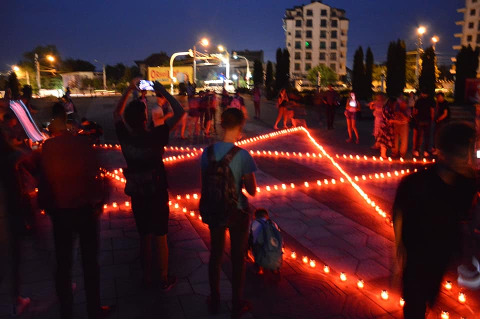 Молодогвардейцы почтили память погибших в ВОВ (ФОТО)