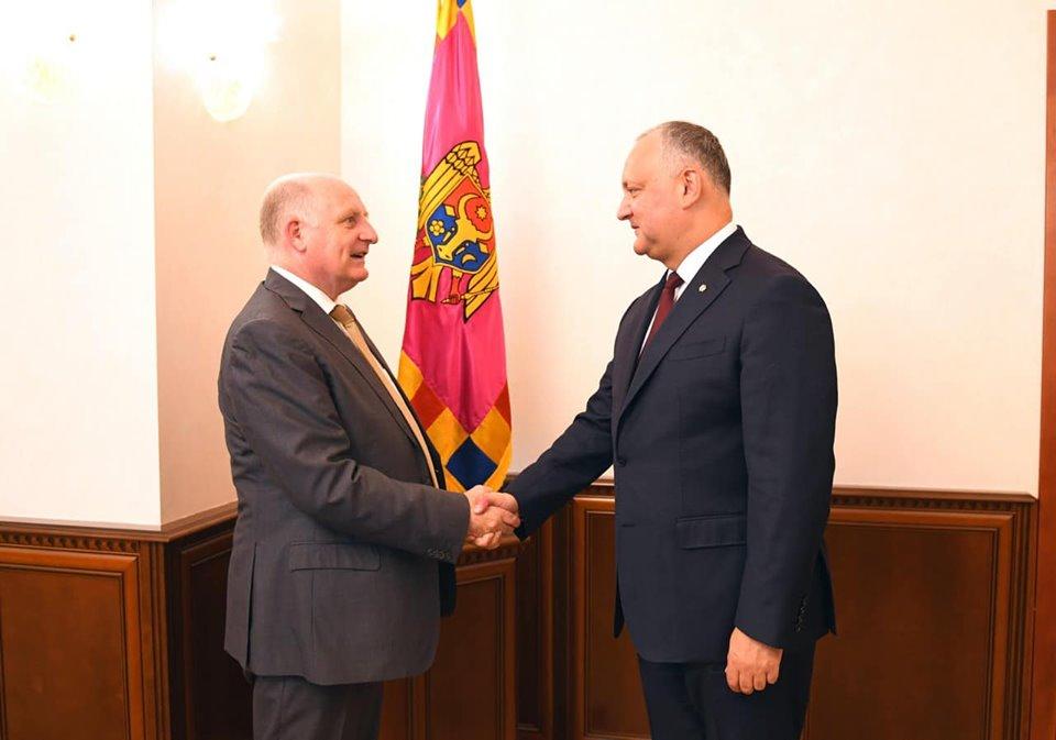 Игорь Додон провел встречу с послом Бельгии в РМ (ФОТО, ВИДЕО)