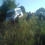 ДТП близ Оргеева: пассажирский микроавтобус слетел в кювет (ФОТО)