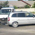 В столице произошло ДТП с участием двух машин: в зоне образовалась пробка