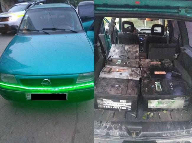 На Рышкановке задержали молодых людей, подозреваемых в краже аккумуляторов (ВИДЕО)
