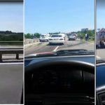 (ОБНОВЛЕНО) Цепное ДТП близ Яловен: водитель вылетел на встречку (ВИДЕО)