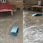 Последствия ливня в Кишинёве: автомобили затопило, а улицы превратились в реки (ВИДЕО)