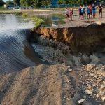 Во Флорештском районе разлившийся Реут разрушил местную дорогу (ВИДЕО)