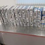 Таможенники изъяли крупную партию контрабандных сигарет в аэропорту