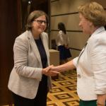 Зинаида Гречаный встретилась с делегацией Европарламента (ВИДЕО)