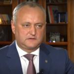 "Додон для ""Россия-24"": Политический кризис в Молдове преодолен (ВИДЕО)"