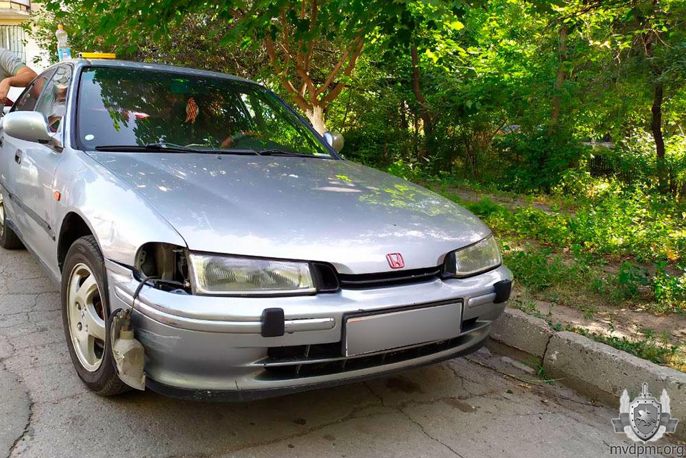 ДТП в Тирасполе: нарушитель покинул место аварии, но был пойман (ФОТО)
