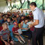 Отдыхающим в детском лагере рассказали о правилах дорожного движения (ФОТО)