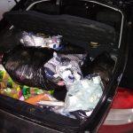 Контрабанда брендовой одежды и сигарет задержана сотрудниками таможни (ФОТО)