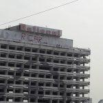 """В столице пьяный мужчина угрожал сброситься со здания гостиницы """"Националь"""""""