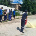В Комрате на молокозаводе прошли учения по гражданской защите (ФОТО)
