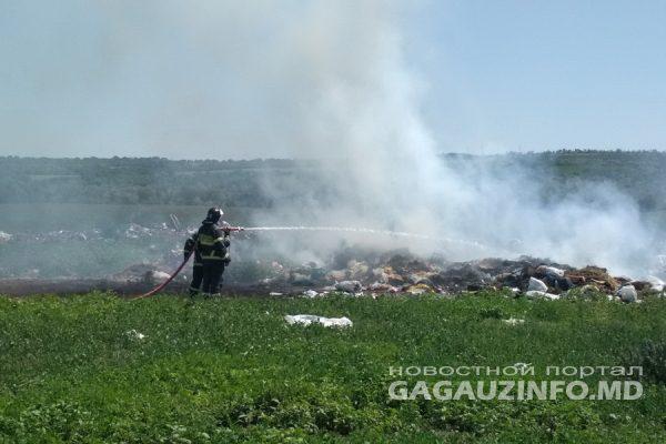 5 пожаров за неделю в Гагаузии: в одном из них поврежден автомобиль (ФОТО)