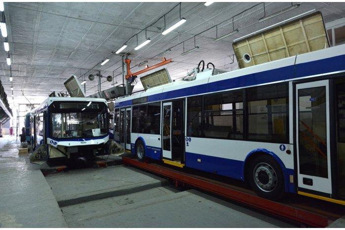 В столице будут курсировать ещё пять новых троллейбусов