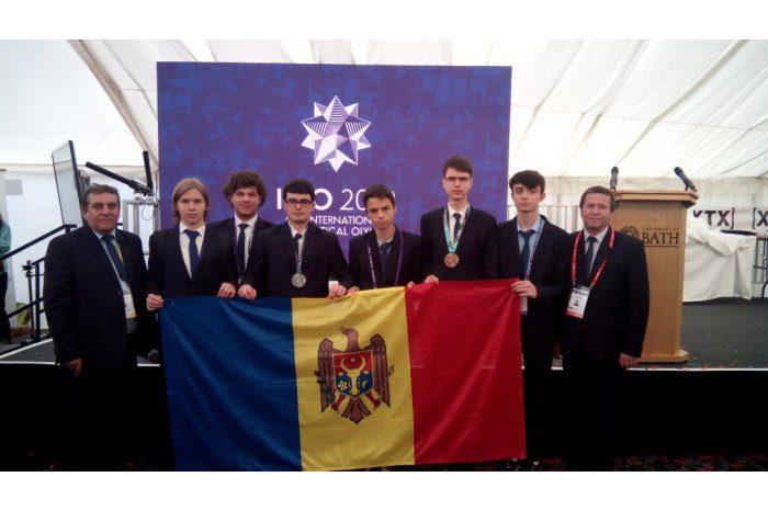 Ученики из Молдовы завоевали две медали на Международной олимпиаде по математике