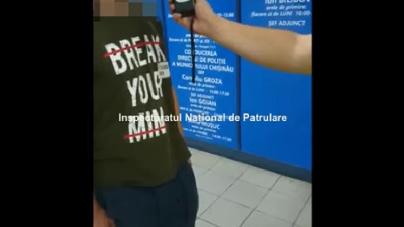 Столичная полиция задержала пьяного лихача, попытавшегося скрыться от правоохранителей (ВИДЕО)