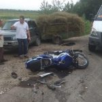 Мотоциклист и его пассажир пострадали в ДТП в Аненах