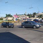 Утренняя авария спровоцировала пробку на Телецентре (ФОТО)