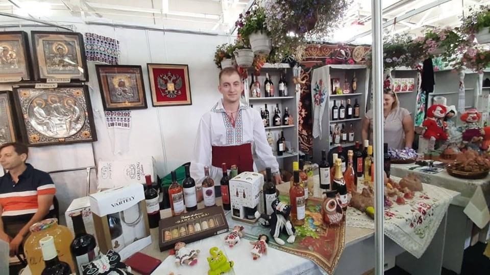 Молдавские товары были представлены на Курской ярмарке (ФОТО)