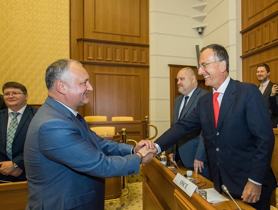 Додон обозначил три приоритета в вопросе приднестровского урегулирования на ближайшее время (ФОТО, ВИДЕО)