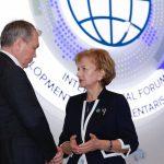 Гречаный встретилась с главой Комитета по делам СНГ Госдумы РФ
