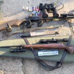 Полиция изъяла у членов ОПГ арсенал нелегального оружия (ФОТО)