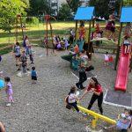 Стараниями социалистов на Ботанике открыта ещё одна детская площадка (ФОТО)