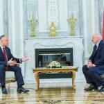 Додон поздравил Лукашенко с Днем независимости Республики Беларусь
