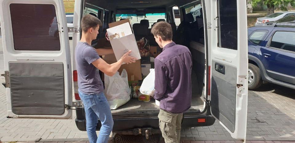 """""""Молодая гвардия"""" отправила гуманитарную помощь пострадавшим в Атаках (ФОТО)"""